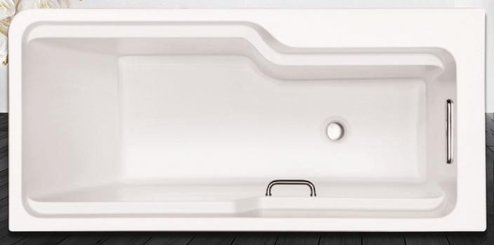 希尔维1.5M整体化浴缸(K-99017T-0)