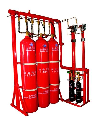 混合气体(IG541)灭火系统