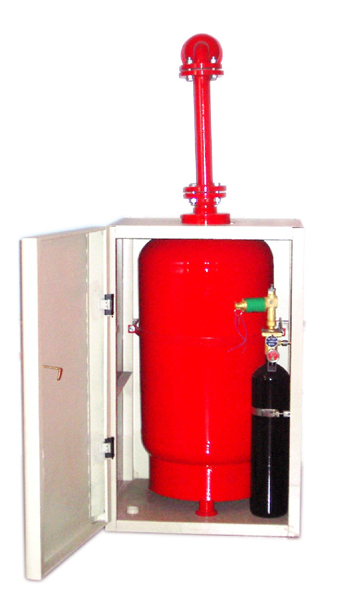 无管网(柜式)干粉灭火系统