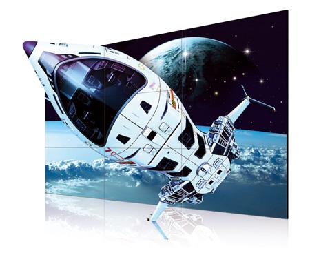 LG 55WV70MD 3D超窄边框拼接显示器