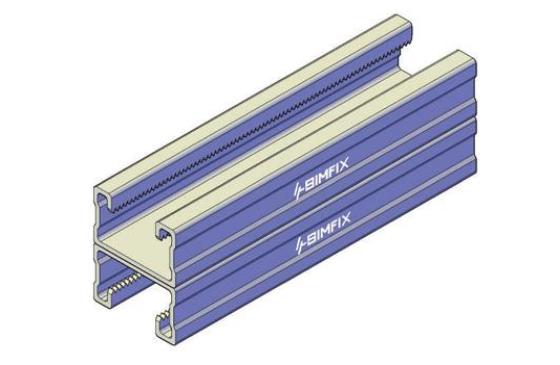 抗震支架双拼c型钢