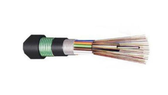 OS2室外单模铠装光缆架空(120DOS2GYTS24)