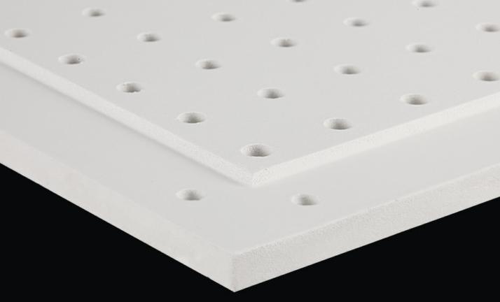 穿孔玻纤吸音墙板(TY-B11)