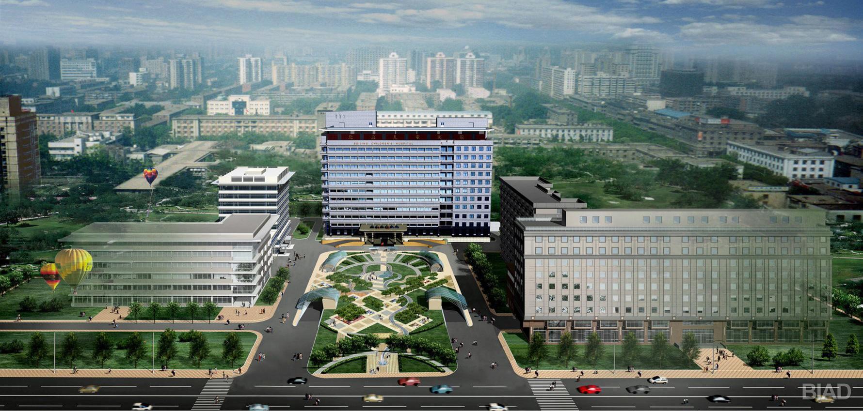 北京儿童医院门诊楼