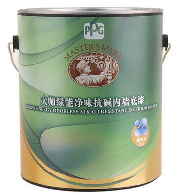 PPG大师漆 绿能净味无添加内墙乳胶漆底漆