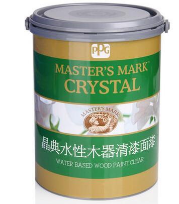 PPG大师漆 晶典水性亮光木器漆