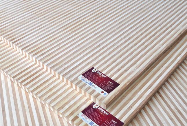 百强 EO级双色斑马竹木板/楠竹集成板/高韧性/耐腐蚀