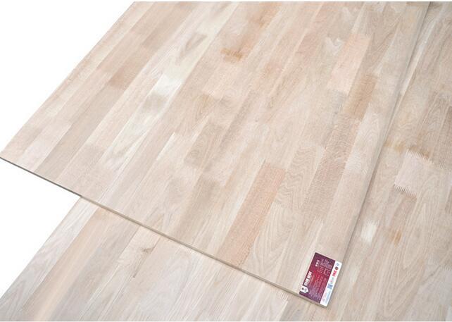 百强 EO级无甲醛30mm柞木集成板/实木家具厚板
