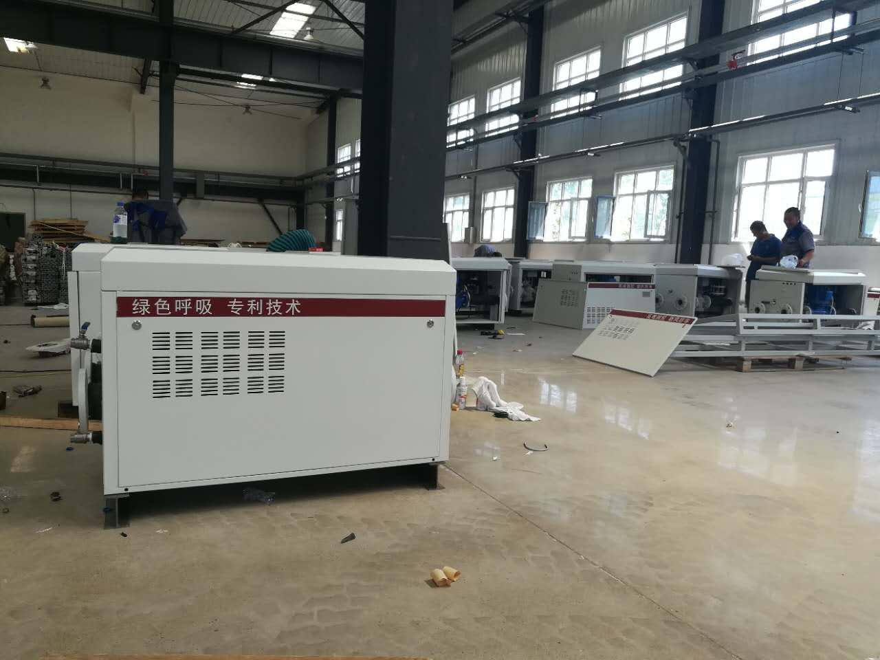 民用型热水供热空调新风防冻调控机组